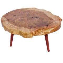 Unique Ash, Padouk Table by Jörg Pietschmann
