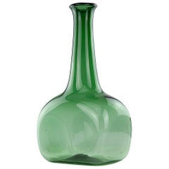 Large Glass Vase in the Style of Winslow Anderson
