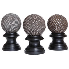 19th Century French Boulle Balls on Stand