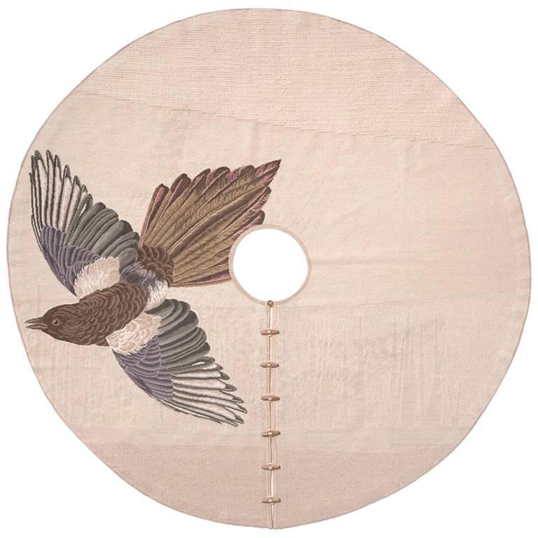 Migration, Gazza, Handmade Needlepoint Rug Designed for Nodus by Formafantasma