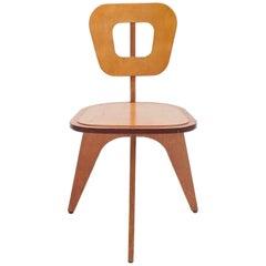 """Modern"" Plywood Chair by Arthur Collani"