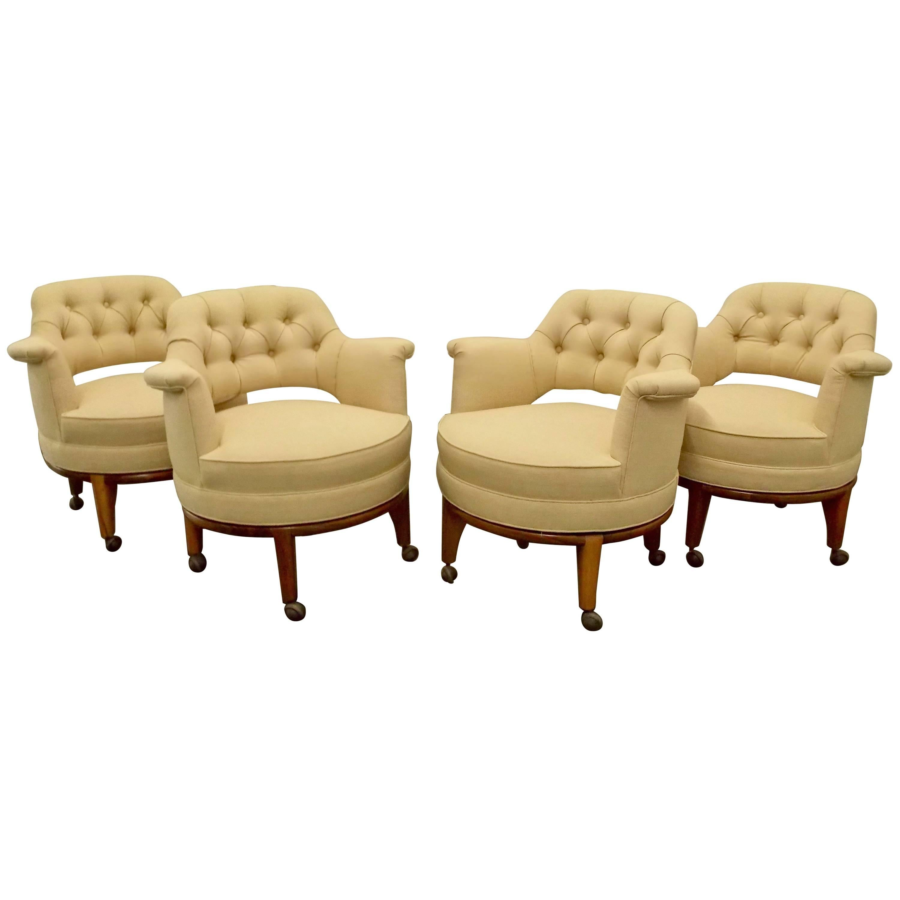Superior Four Maurice Bailey Chairs For Monteverdi Young, 1960s