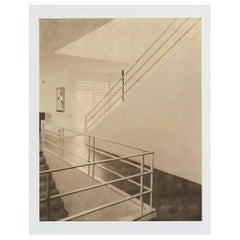 Brill House Staircase Photograph by Francois Dischinger