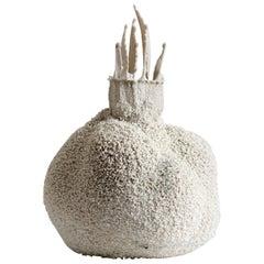 White 21, Small Ceramic Porcelain Vase by Michal Fargo, 2016
