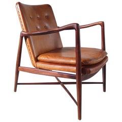"""Finn Juhl """"Fireplace chair"""" Model BO-59 for Borvirke, Denmark, 1946"""