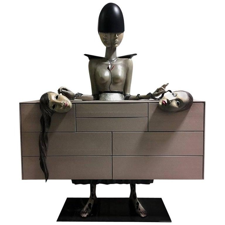 'Dualface' Unique Cabinet from Egli Design