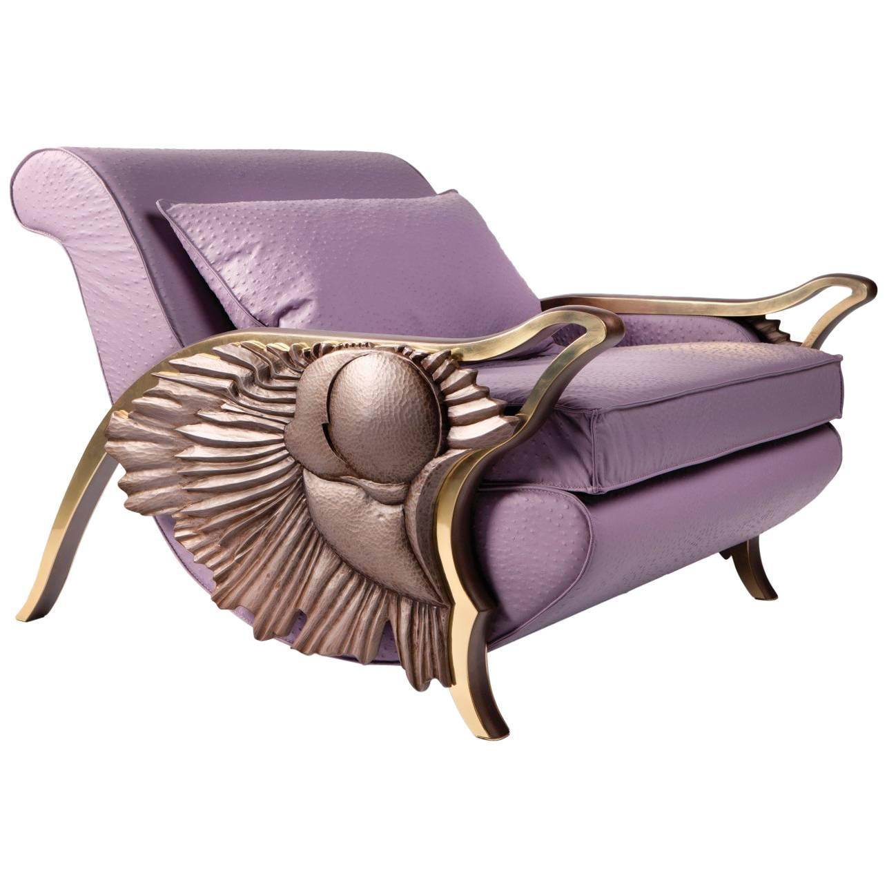 'Eternity' Limited Edition Lounge Armchair from Egli Design