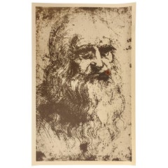 Man Ray, the Father of Mona Lisa, 1967, Offset Lithograph