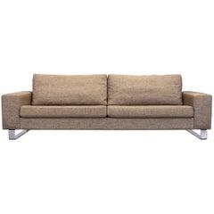 BoConcept Designer Sofa Beige Three-Seat Couch