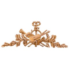 18th Century, French Giltwood Decorative Element