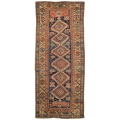 Late 19th Century Antique Caucasian Karagashli Rug