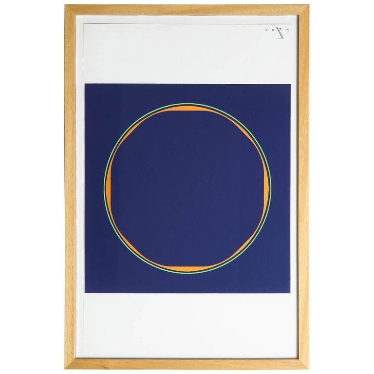 Julio Espada, Digital Drawing, 2017 Framed Print For Sale