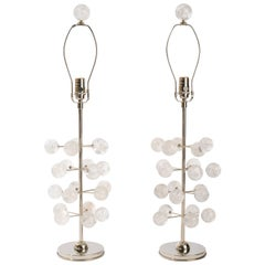 Rock Crystal Orb Lamps, Eon Collection