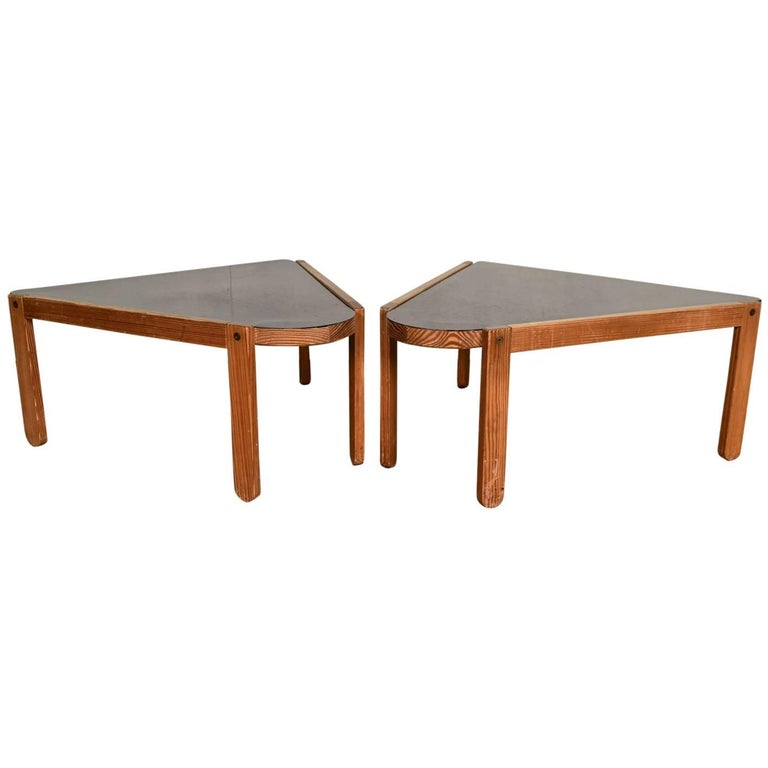 Bernt Petersen Triangular Coffee Table For Sale At 1stdibs