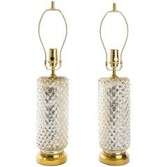 Petite Mercury Glass Lamps