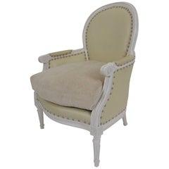 Louis XVI Style Bergere