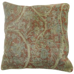 Mohtasham Kashan Rug Pillow