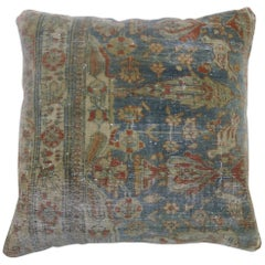 Pictorial Persian Mohtasham Kashan Rug Pillow
