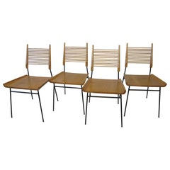 Paul McCobb Shovel Seat Dining Chairs from the Planner Group