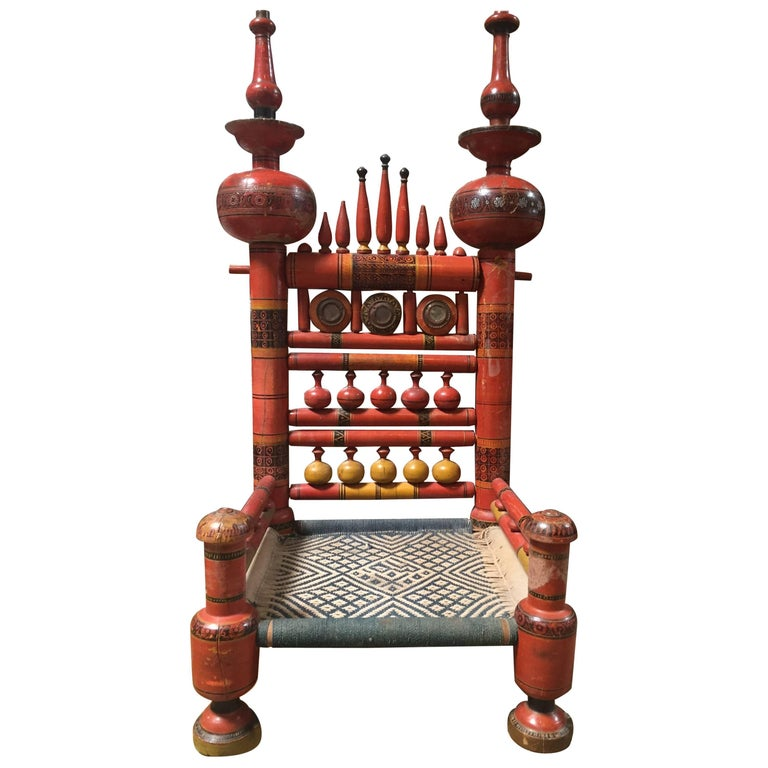 Indian Raj Chair For Sale