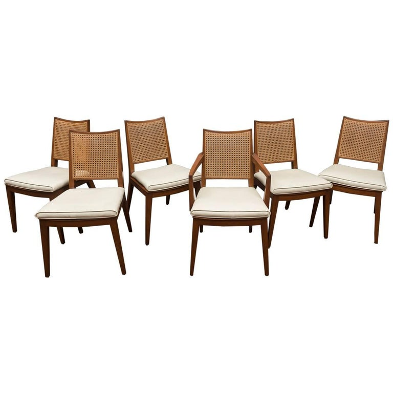 Edward Wormley Dining Chairs for Dunbar For Sale