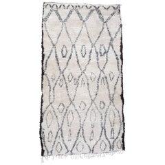 Excellent Beni Ouarain Moroccan Berber Carpet