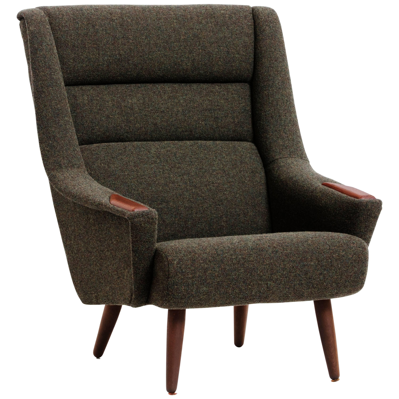 Grand Repos Lounge Chair, Kvadrat Davina MD 773 Upholstery At 1stdibs