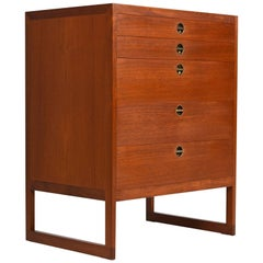 Børge Mogensen Danish Teak Chest of Drawers Dresser