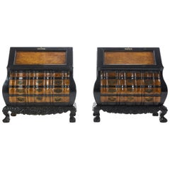 Pair of Dutch Colonial Bureaus