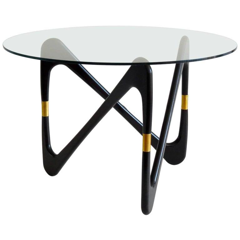 Rare Cesare Lacca Big Round Side Table, 1950