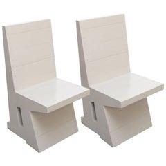 Dom Hans van der Laan Pair of Easy Chairs