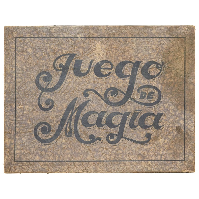 "First Edition of ""Juego de Magia Borras"" 1933 For Sale"