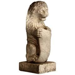 19th Century Italian Marble Lion