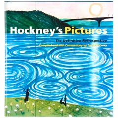 """Hockney's Pictures, The Definitive Retrospective"", First Edition"