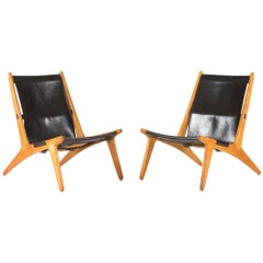 Pair of Hunting Chairs by Uno & Östen Kristiansson