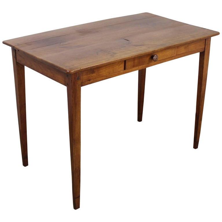 Antique cherry side table for sale at stdibs