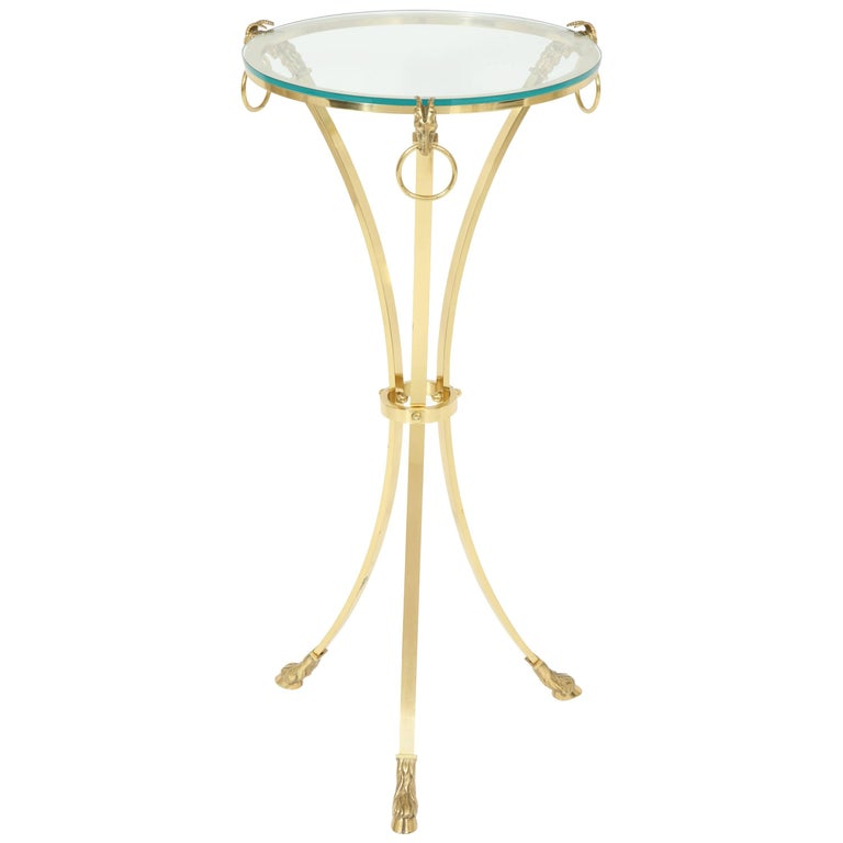 Maison Charles Brass Side Table