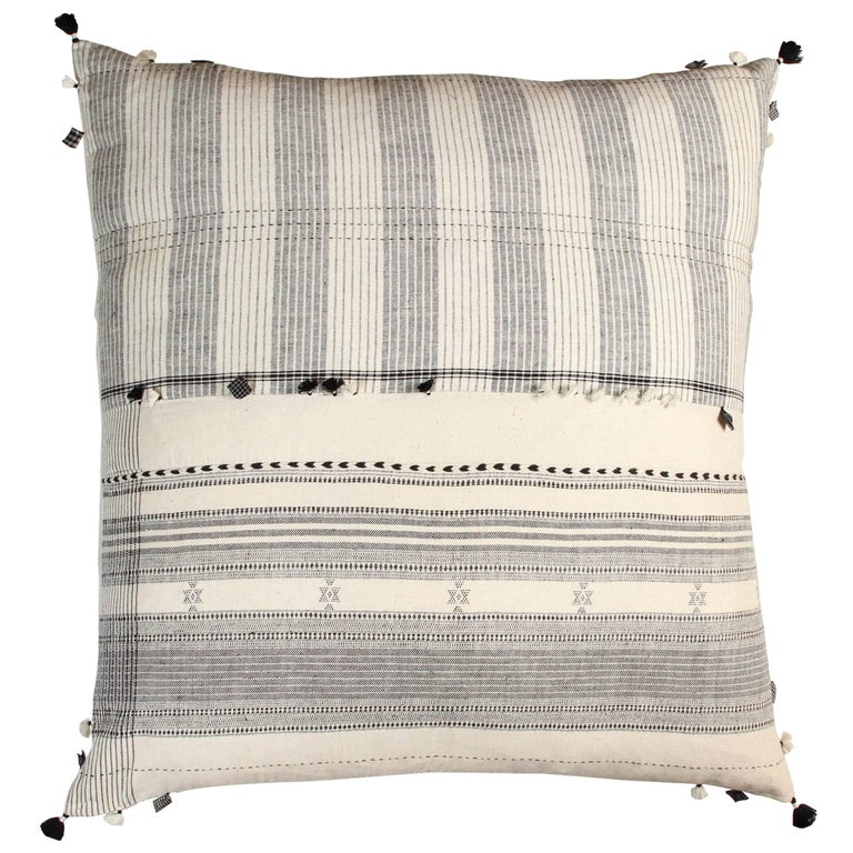 Injiri Organic Cotton Floor Cushion For Sale at 1stdibs