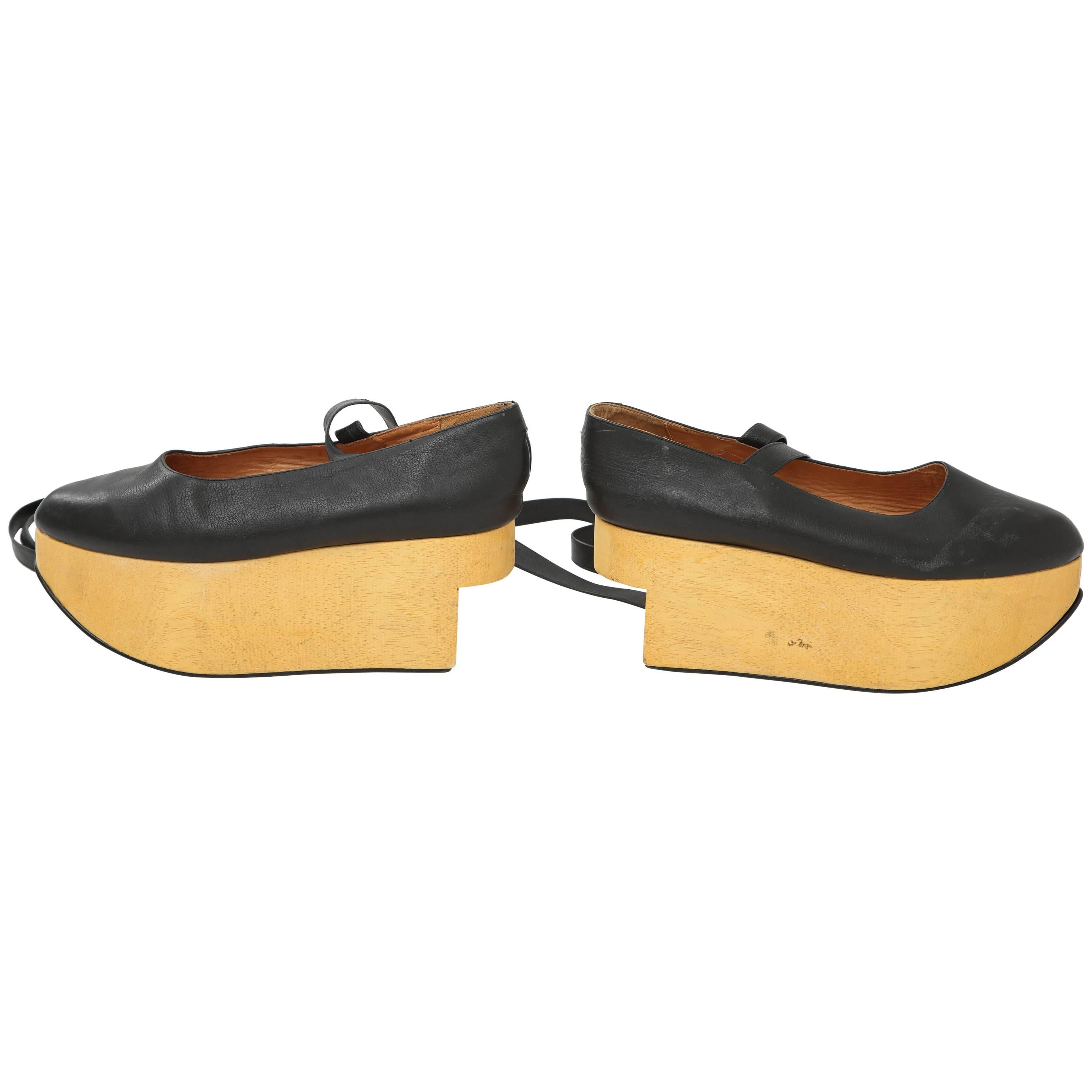 Pair Of 1985 Vivienne Westwood Iconic Rocking Horse Shoes