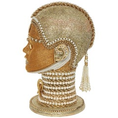 W. Beaupre Gold Chain Android Bust