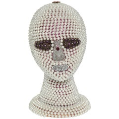 W. Beaupre Pearl Encrusted Android Bust