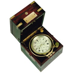 Antique Two-Day Marine Chronometer by Francis Fletcher, London