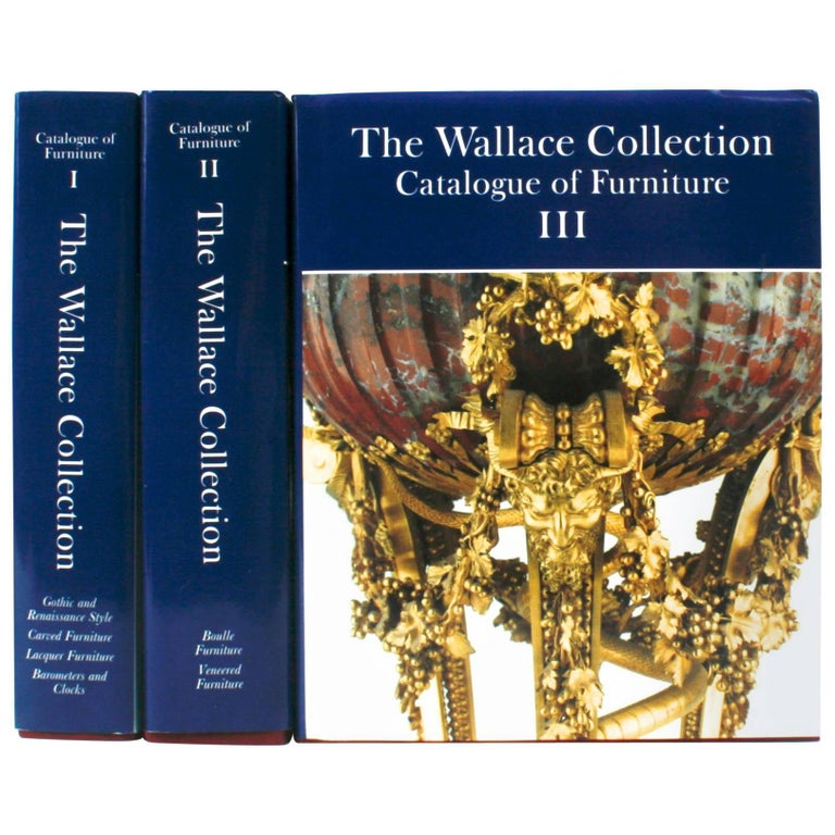 Wallace Collection in Three Volumes, First Editions 1