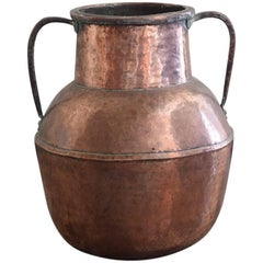 Substantial Early 19th Century Copper Urn