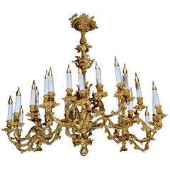 Chandelier of 24 Lights, 19th Century, Napoleon III