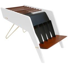Pierre Guariche Midcentury Magazine Rack, circa 1950-1959