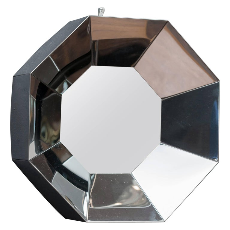 C.Jere Chrome Wall Mirror For Sale