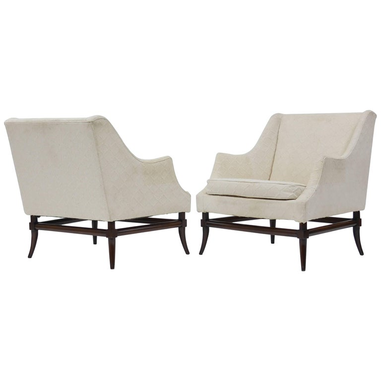 Pair of Lounge Chairs Attributed to Tommi Parzinger