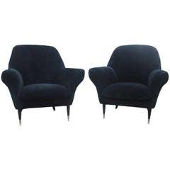 Italian Midcentury Design Armchairs Very Chic