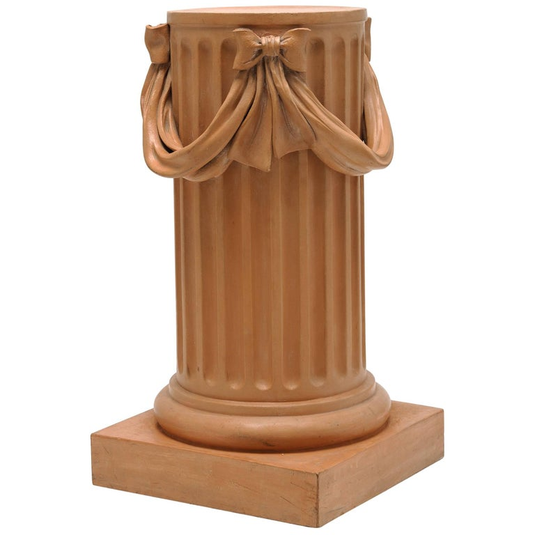 Tuscan Terracotta Column For Sale At 1stdibs